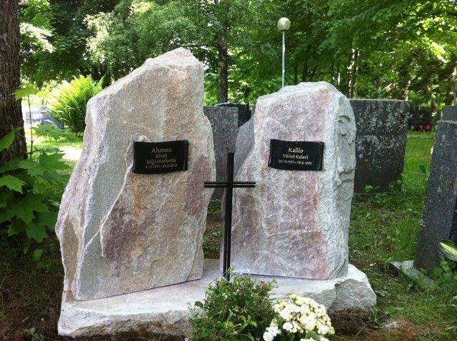 hautakivet ahonen ja kallio